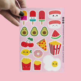 Stickervel | Food