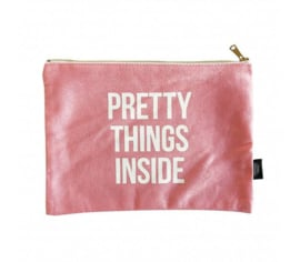 Canvas Bag 'Pretty Things Inside' XL