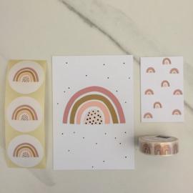 Inpakset | regenboog