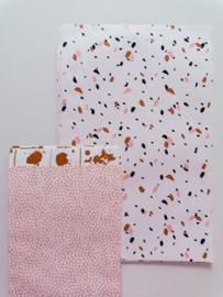 Cadeauzakjes SOW Peach | 17 x 25 cm
