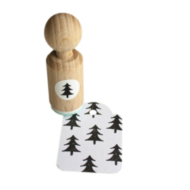 Mini Stempel | Kerstboompje
