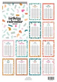 Birthday Calendar | Aging alert