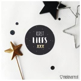 Sticker | Kerst Liefs xx