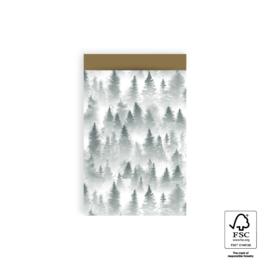 Cadeauzakjes | Forest Gold 12 x 19 cm