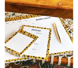Notepad || Cheetah