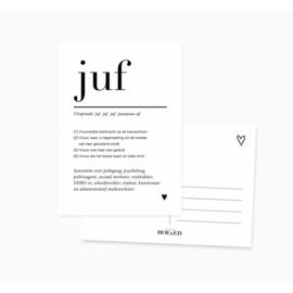 Kaart | Juf