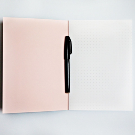 Green Lilac Shadow Notebook