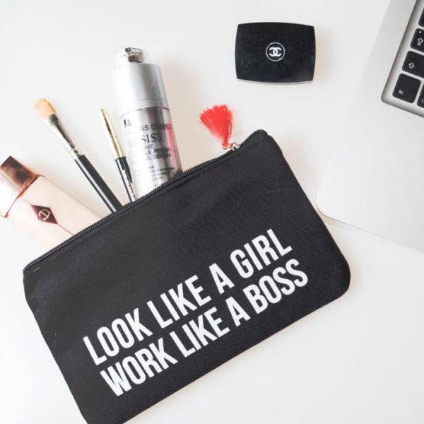 Make-up/ Pencilbag   Look like a girl