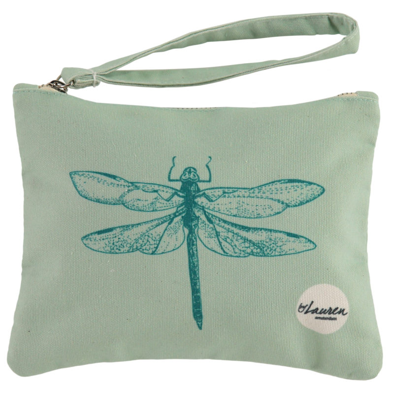 Dragonfly Ocean Green | Small