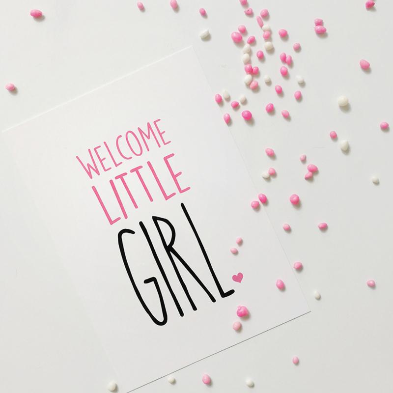 Welcome Little Girl
