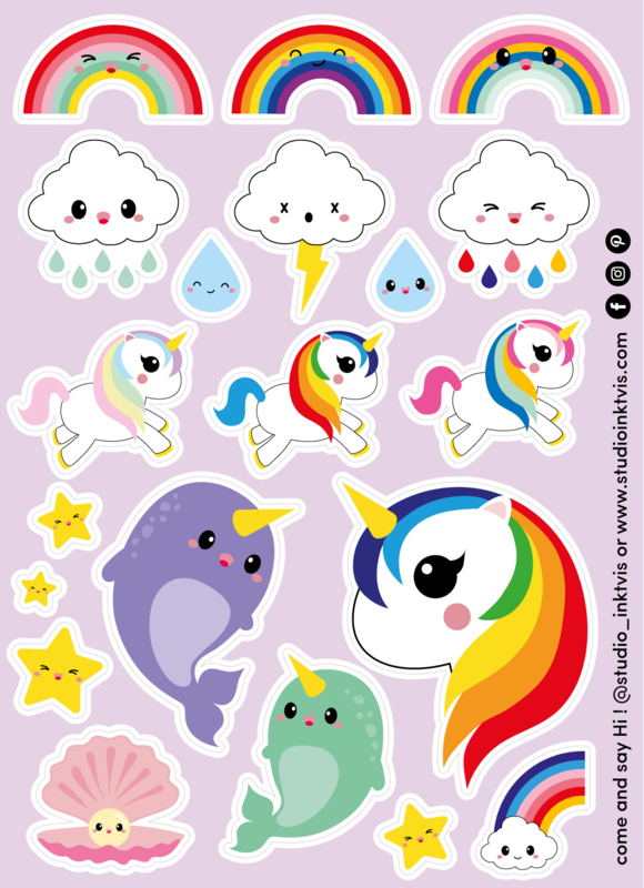 Stickervel | Rainbow