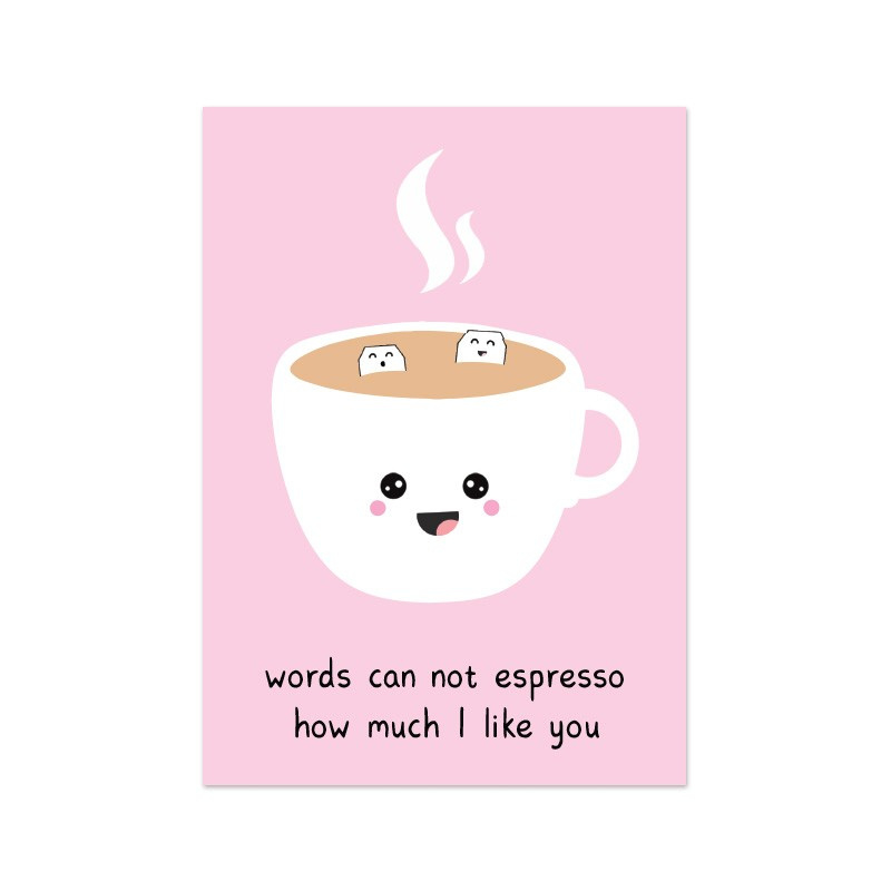 Words can not espresso