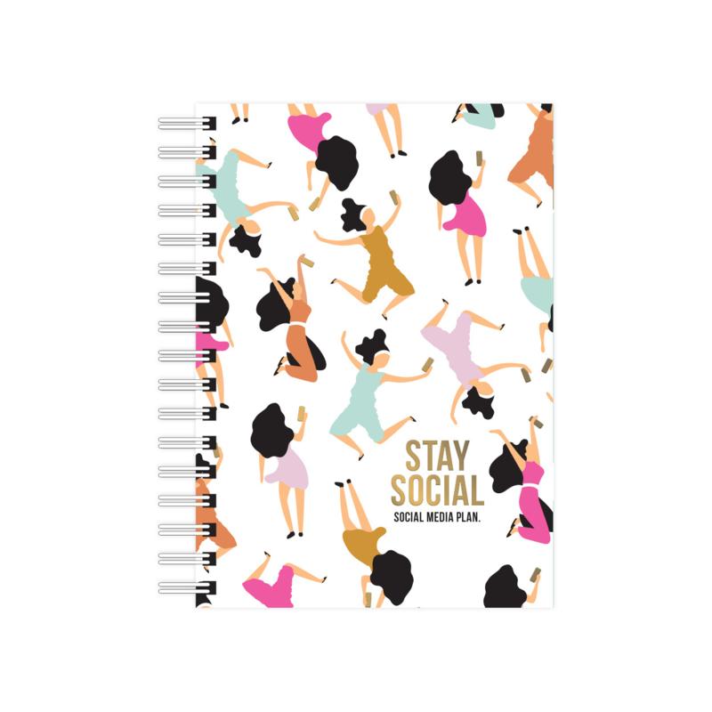 Notebook || Social media plan