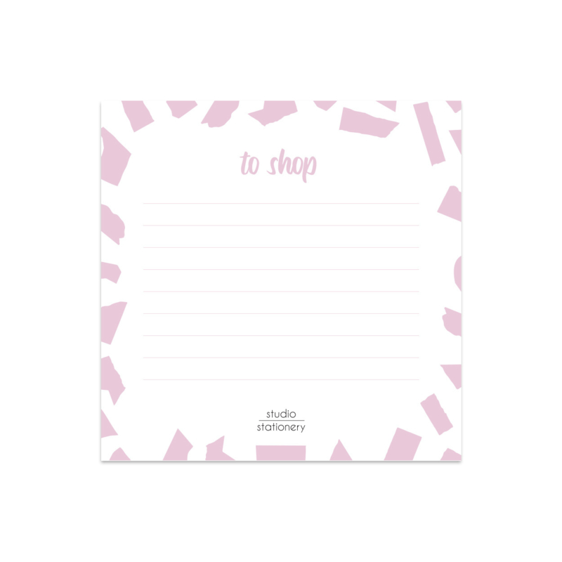 Mini Memo || Pink Confetti