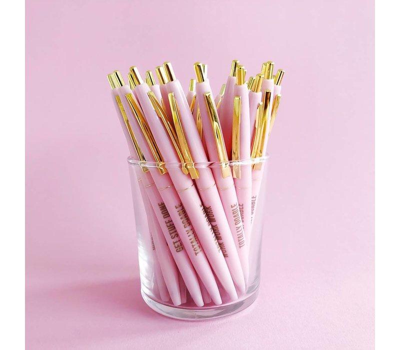 Pretty Pink Balpen set