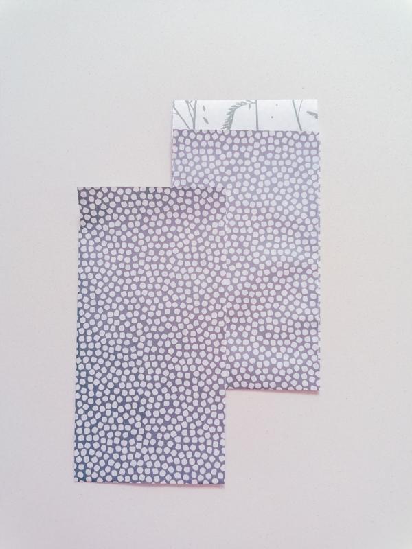 Cadeauzakjes Spring Cubes Blauw | 7 x 13 cm