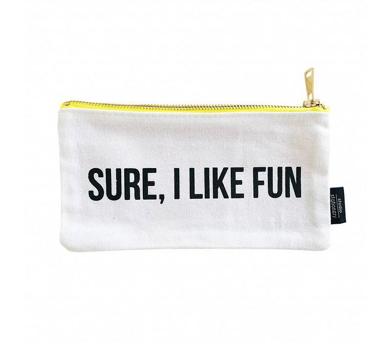 Canvas bag | Sure I like fun