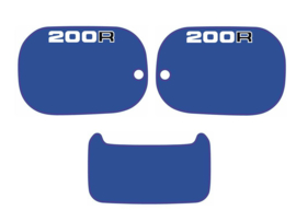 Panel Set 200cc Blue