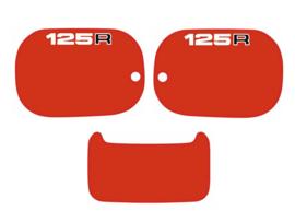 Panel Set 125cc Red