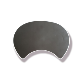 Front Mask Round Black