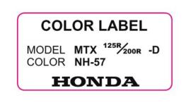 17. Color Label NH-57