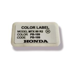 Color Label PB-109 MTX R2