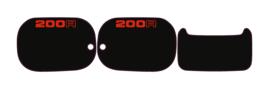 Panel Set 200cc Black