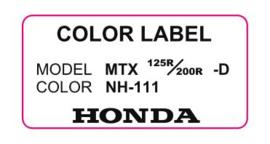 17. Color Label NH-111