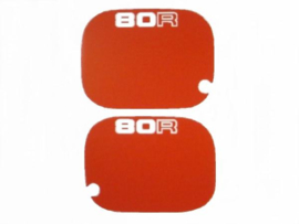 Decal Set Side Panels 80R Red