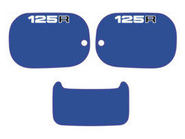 Panel Set 125cc Blue