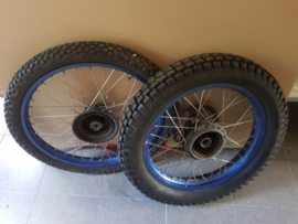 Set of Wheels Aloy Blauw