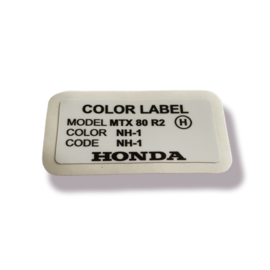 Color Label NH-1 MTX R2