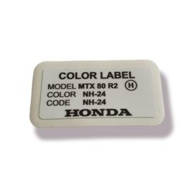 Color Label NH-24 MTX R2