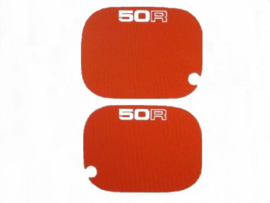 Decal Set Side Panels 50R Red