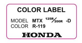 17. Color Label R-119