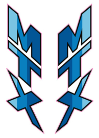 MTX 50R Decal Set Blue
