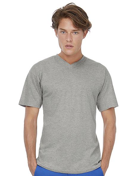 T-shirt met V neck heren