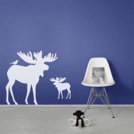 Interieursticker Moose