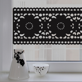 Raamsticker Lace