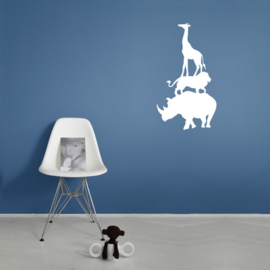 Interieursticker Animal tower