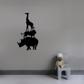 Interieursticker Animal tower