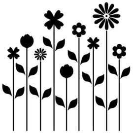 Interieurstickers Floral Fun
