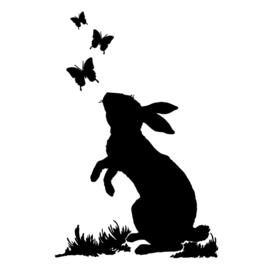 Interieursticker Rabbit
