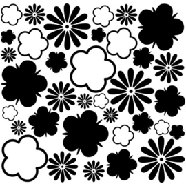 Interieurstickers Flower Mix