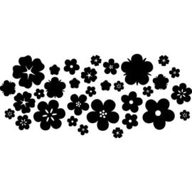 Raamstickers Bloom