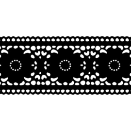Raamsticker Lace