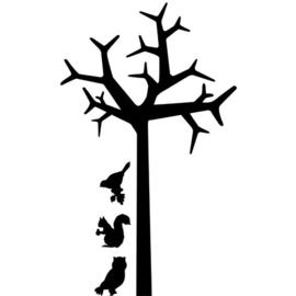 Interieursticker Tree