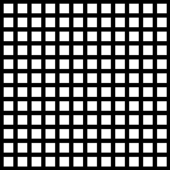 Raamsticker Grid
