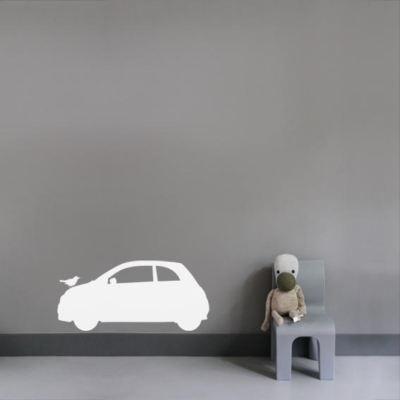 Interieursticker Fiat 500