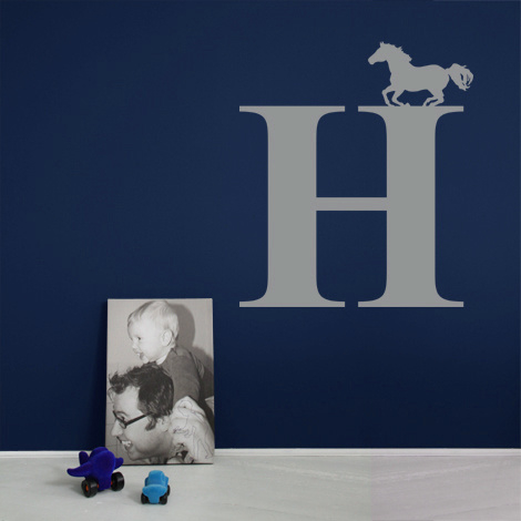 Lettersticker Horse